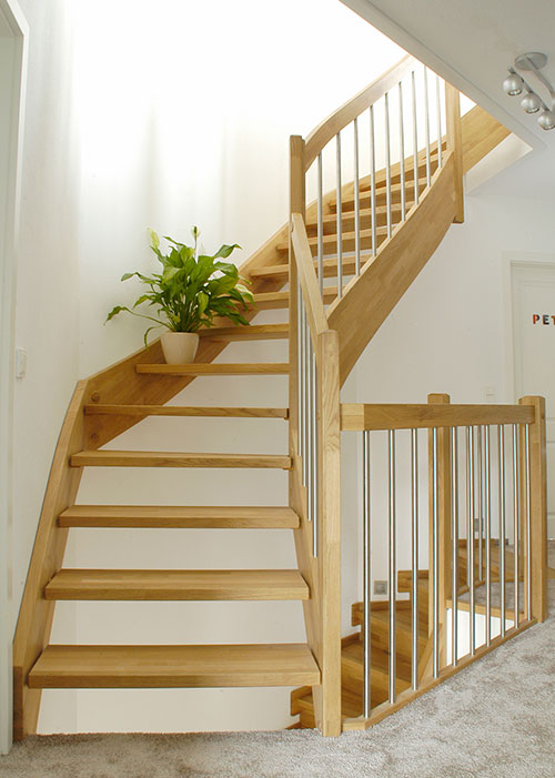 Holztreppe Step-In Typ 2